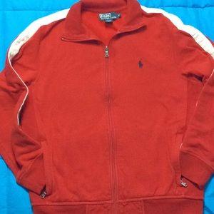 Polo Ralph Lauren Red Sweatsuit Jacket